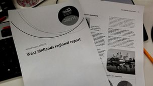 West Midlands Ofsted regional report