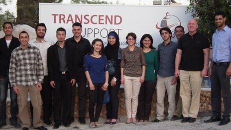 Staff at Transcend Support