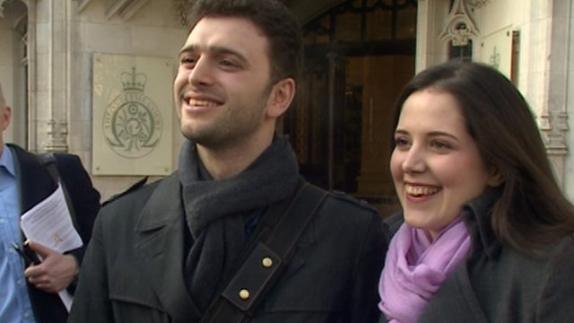Engaged couple Alessandro Calcioli and Louisa Hodkin