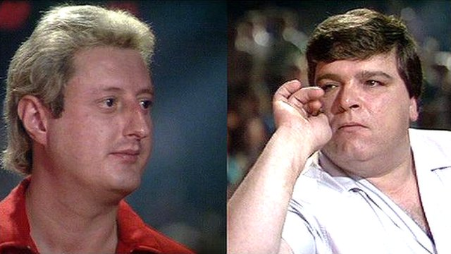 Eric Bristow and Jocky Wilson, BDO World Darts Championship 1989