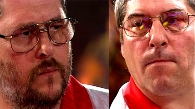 Martin Adams and Phil Nixon, BDO World Darts Championships 2007
