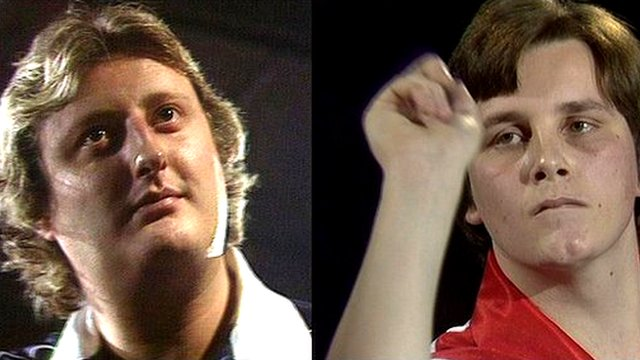 Eric Bristow and Keith Deller, BDO World Darts Championship 1983