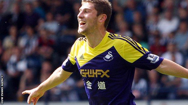 Swansea City defender Ben Davies