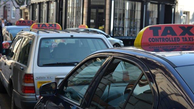 Taxi ranks