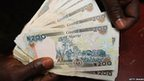 Nigerian bank notes