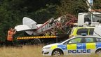 The Gipsy Moth plane crashed near Canons Ashby House
