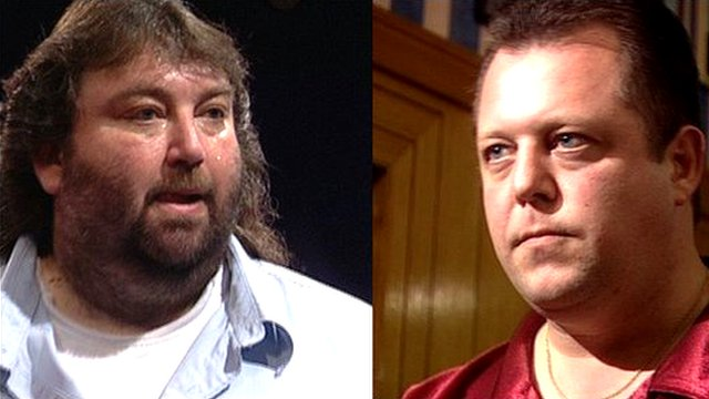 Andy Fordham and Mervyn King, BDO World Darts Championship 2004