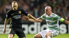 Celtic skipper Scott Brown (right) returns from a three-game European ban