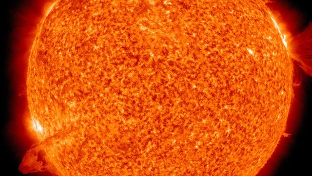 Nasa images of the Sun