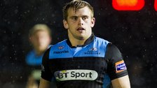 Glasgow Warriors' Pat MacArthur