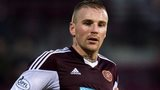 Hearts midfielder Ryan Stevenson