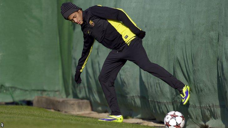 Barcelona striker Neymar