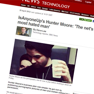 Story about Hunter Moore