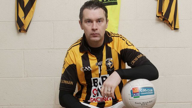 Oisin McConville is joint manager of Crossmaglen Rangers