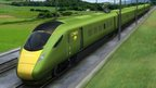 Artist's impression of GNER new pendolino train
