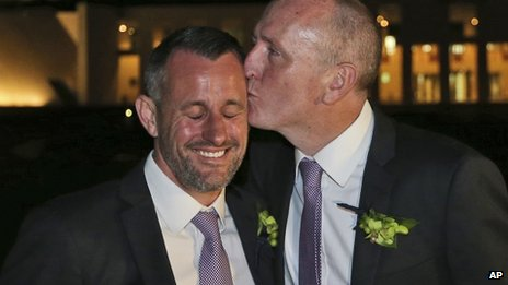 Australia court bans gay marriage...