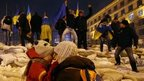 Protesters in Independence Square, Kiev (12 Dec 2013)