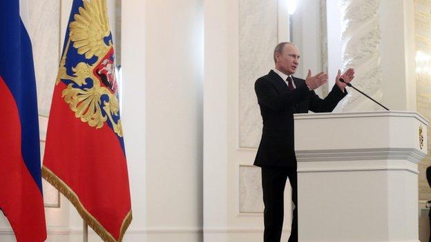 President Vladimir Putin (12 Dec)