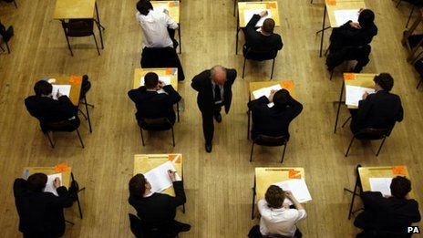 Poorer GCSE pupils do half as well...
