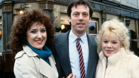 Angie, Den and Sharon Watts