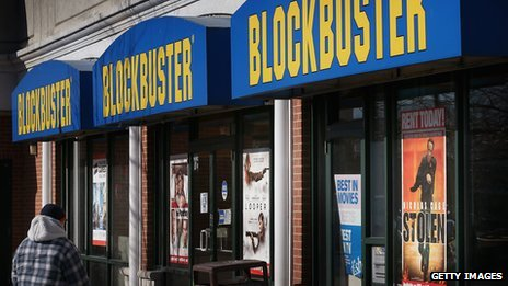 Blockbuster store in Chicago