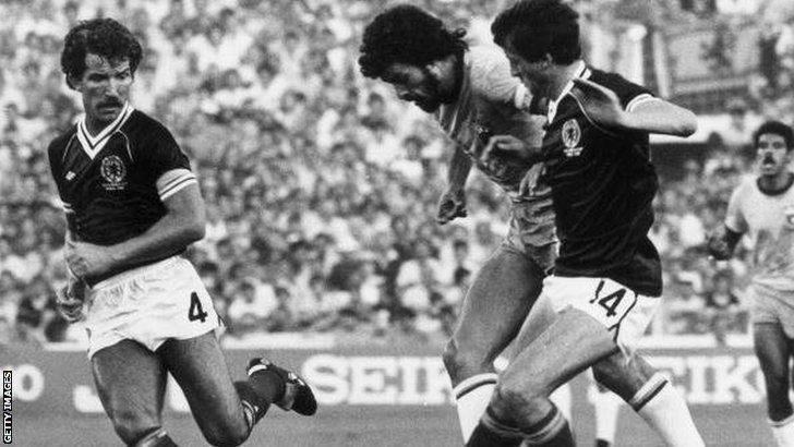 Scotland v Brazil 1982