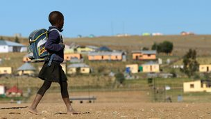 Child in Qunu