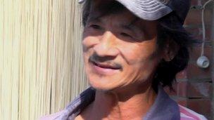 Taiwanese noodle-maker Lin Zheng-yi
