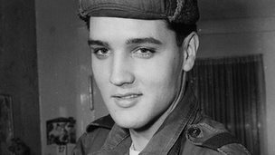Elvis Presley in Germany Pic: AP