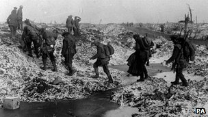 British troops at the Somme