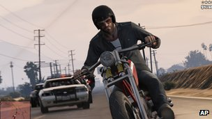 Screen shot from Grand Theft Auto V