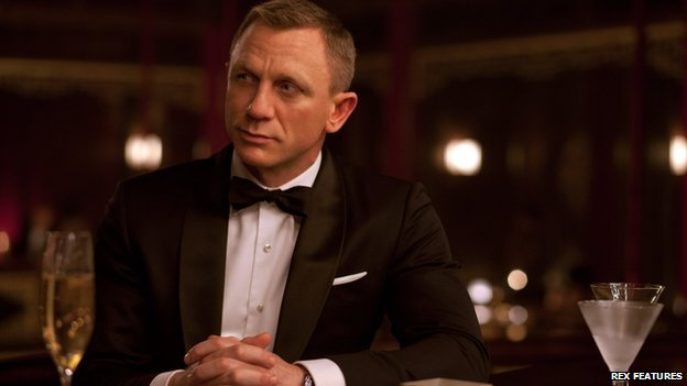 James Bond is an 'impotent drunk'...