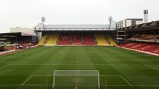 Watford's Vicarage Road ground
