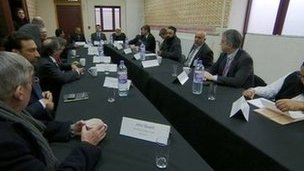 Extremism talks, Sparkbrook in Birmingham