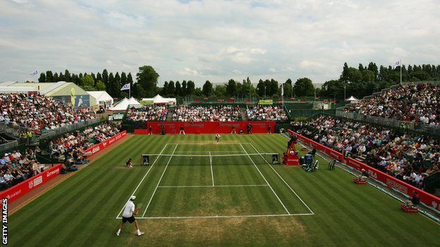 The 2007 Nottingham Open at Nottingham Tennis Centre