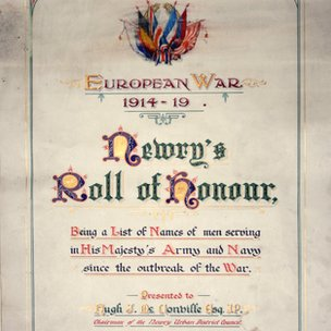 Newry roll of honour