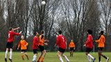 Amateur football on Hackney Marshes in London