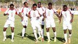Jubilant Kenya players at Cecafa Cup