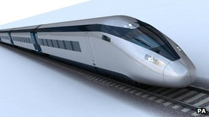 Possible design of high speed trains