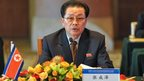 Chang Song-thaek attends the third meeting on developing the economic zones in North Korea, in Beijing on 14 August 2012