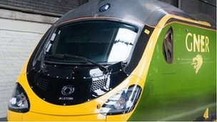 New-look GNER train