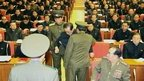 A still image taken from North Korea's state-run KRT TV on 9 December 2013 shows Chang Song-thaek being forcibly removed by uniformed personnel from a Communist Party meeting in Pyongyang