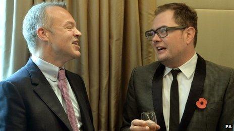 Graham Norton and Alan Carr