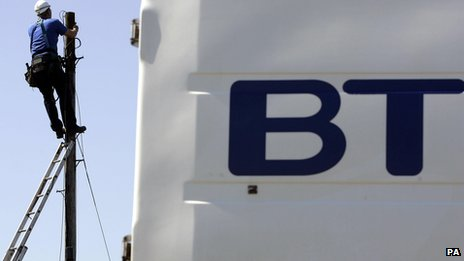 Complaints about BT TV double...
