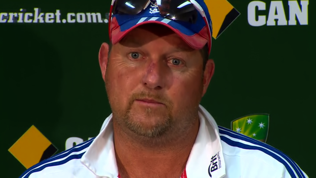 England bowling coach David Saker