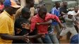 Angry crowd in Bangui, CAR - 12 December 2013