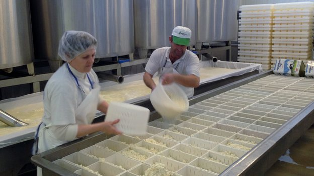 Arvanitis feta production