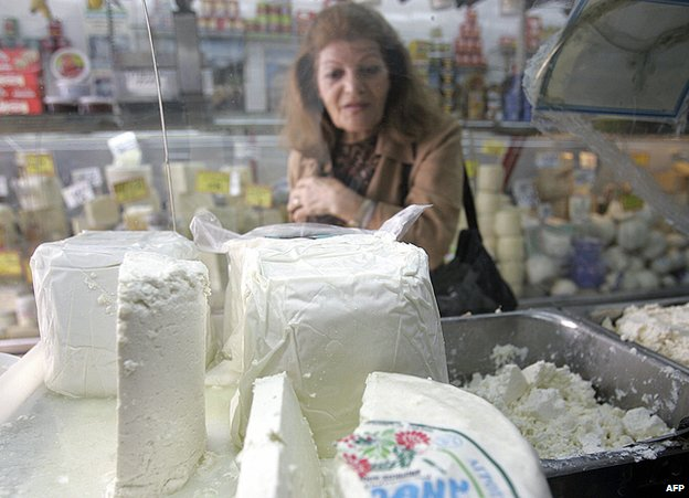 Feta cheese - file pic