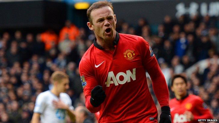 Manchester United forward Wayne Rooney
