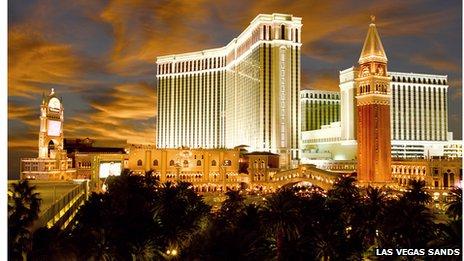 The Venetian, Las Vegas Sands